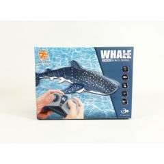 2.4G Remote Control Whale Shark Toy 1:18 Swimming Pool Whale Shark RC Boat