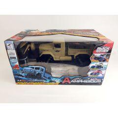 ZEGAN ZG-C1231W 1/12 2.4G 4WD RTR RC Military Car Amphibious Desert Rock Crawler