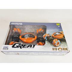 2.4G 1:16 Remote Control RC Gesture Controlled Twist Stunt Car Dual Remotes
