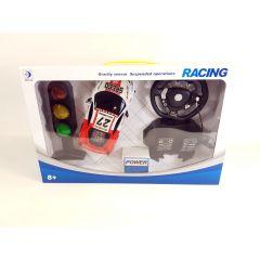 RC Race Car Gravity Sensor Steering Remote Control Racing Pedals Ferrari Style