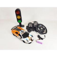 Radio Control RC Gravity Sensor REAL Pedal Model Race Car Lambo Style Toy Set