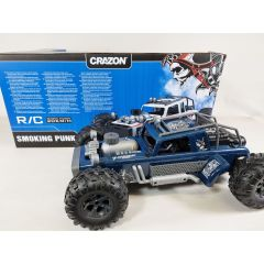 2.4GHZ Remote Radio Controlled RC 4x4 4WD Off Road Smoking Punk 1:10 4ch Monster Truck Climbing Buggy 20KM/H