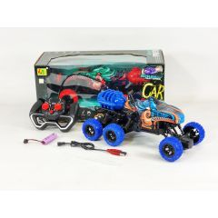 Remote Control RC 6x6 4WD Off Road Rock Crawling Monster Truck SMOKING Buggy Light Up Steam Shark Attack