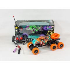 RC Crocodile Remote Control 6x6 Off Road SMOKING Steam Jet Exhaust Buggy Monster Truck RTR