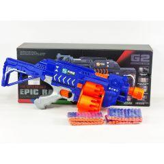 G2A Epic Rage Dart Zone Savage Blaster Triple Barrel Soft Dart Gun Electric Battery Operated Semi Auto Nerf Gun Series Toys for Boys