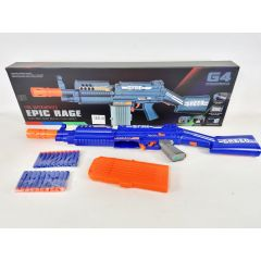 Electric Battery Soft Dart Gun Photon Storm Epic Fire Nerf Style 20 x Bullets Army Military Outdoor Toy