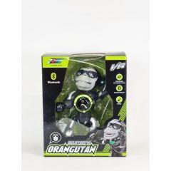 Interactive robot Orangután Monkey 119688 Bluetooth Black Speaker Singing Talking Interaction Gift