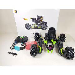 KEYE 2.4G ROBOTIC VEHICLE SCIENCE FICTION IR BATTLE BULLET SHOOTING WATCH CONTRO