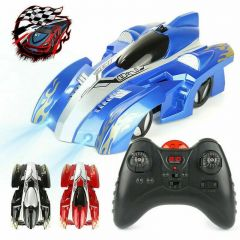 POWER WALL CLIMBING REMOTE CONTROL CAR RADIO CONTROLLED STUNT RACING KIDS TOY UK