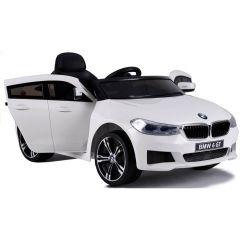 OFFICIAL BMW 6 SERIES GT 12V KIDS BLACK ELECTRIC RIDE ON CAR PARENT REMOTE CONTR