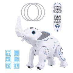 LE NENG K17 INTELLIGENT RC ROBOT ELEPHANT PROGRAMMABLE STORYTELLING MUSIC DANCE