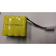 1000MAH 9.6V HENG LONG REMOTE CONTROL RC TANK CAR BOAT PLANE SPARE BATTERY PACK