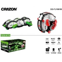 CRAZON 333 ROLLING STUNT 2.4GHZ 4CH REMOTE RADIO CONTROLLED RC STUNT CAR SNAKE 1
