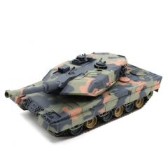 HENG LONG 1/24 SCALE GERMANY LEOPARD JUNGLE RC REMOTE RADIO CONTROL ARMY BATTLE
