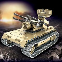 MECHANICAL MASTER MILITARY FORCE BRICKS BUILD YOUR OWN REMOTE CONTROLLED 2.4GHZ