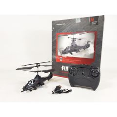 DH Remote Radio Control RC Mode Fly Wolf Apache Stealth Helicopter 3.5CH Gyro IR