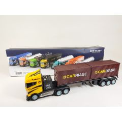 Remote Radio Control RC 2.4Ghz 1:16 2WD Model Lorry Transport Vehicle Container