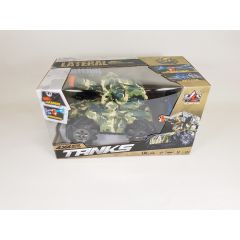 CAMOUFLAGE REMOTE RADIO CONTROLLED MECH TANK ROBOT WATER BOMB FIRING 2.4G REMOTE