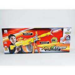 FIRE STORM SOFT BULLET NERF STYLE BLAZING DART GUN SNIPER RIFLE FIRES UPTO 35FEE