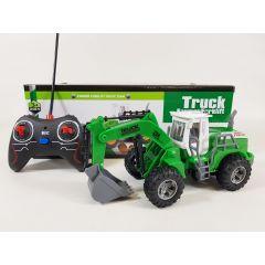 Radio Control RC JCB Builder Farm Yard Forklift Truck Model Digger Bulldozer UK