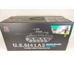 VERSION 7 2.4G HENG LONG 1/16 RADIO CONTROL R/C U.S. M41A3 WALKER BULLDOG TANK 1