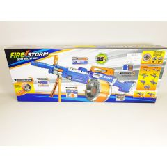 BLUE 7006B FIRE STORM SOFT BULLET NERF STYLE BLAZING DART GUN SNIPER RIFLE FIRES