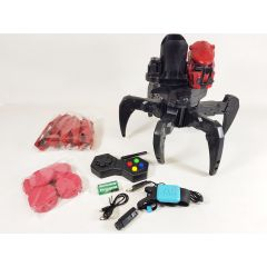 RC All Terrain Fighting Robot Spider Thors Light Blaster Dart Firing Toy 2.4g