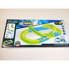 RAPID WORLD STUNT TRACK remote control RC model racing slot car track - 1 car gl